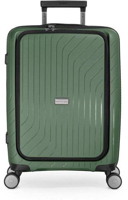 Hauptstadtkoffer Hartschalen-Trolley »TXL, 55 cm, dunkelgrün«, 4 Rollen, mit separatem Laptopfach   Taschen > Koffer & Trolleys > Trolleys   hauptstadtkoffer