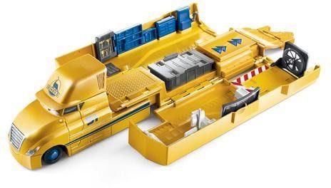 Mattel® Spielzeug-Auto »Disney Cars Transporter Spielset Cruz Ramirez«, verwandelbar