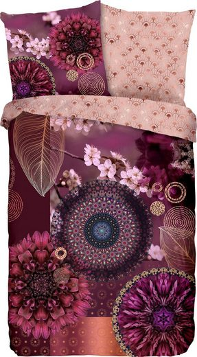 Wendebettwäsche »Aluna«, hip, mit Blumenmandalas