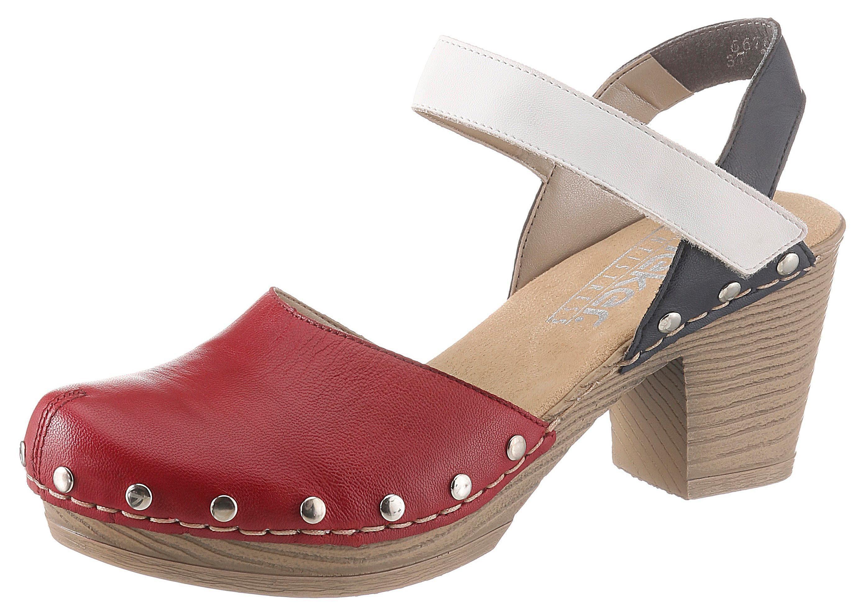 Rieker Sandalette mit Klettverschluss, Mit Nietenverzierung online kaufen | OTTO