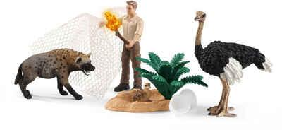 Schleich® Spielfigur »Wild Life, Angriff der Hyäne (42504)«, (Set)