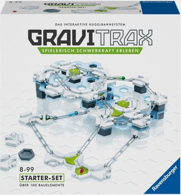 Kugelbahn-Bausatz »GraviTrax® Starterset«, Made in Europe, FSC® - schützt Wald - weltweit