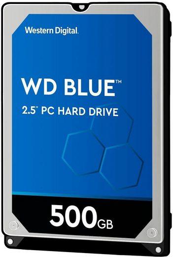 "Western Digital »WD Blue Mobile« HDD-Notebook-Festplatte 2,5"" (500 GB)"