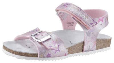 Geox Kids »Adriel« Sandale in cooler Glitzer-Optik