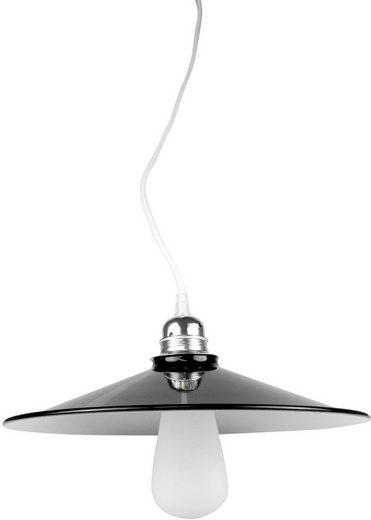 SEGULA Hängeleuchte »Lampenschirm Schwarz-weiß«, 1-flammig