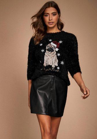 LIPSY Пуловер с круглым вырезом