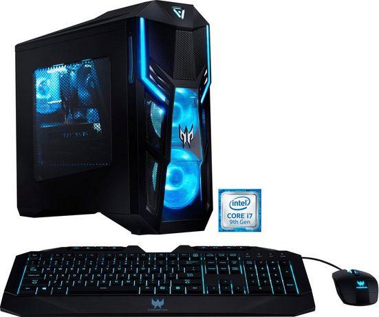 Acer Predator Orion 3000 (PO3-600) DG.E1BEG.00F Gaming-PC (Intel® Core i7, RTX 2060 SUPER, 16 GB RAM, 1000 GB HDD, 1024 GB SSD, Luftkühlung)