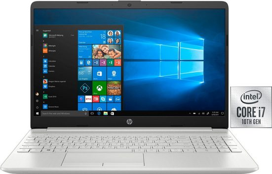 HP 15-dw1271ng Notebook (39,6 cm/15,6 Zoll, Intel Core i7, GeForce, 512 GB SSD, inkl. Office-Anwendersoftware Microsoft 365 Single im Wert von 69 Euro)