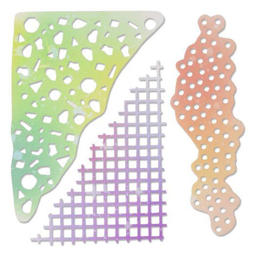"Sizzix Thinlits Stanzschablone ""Geometric Mask Set by Sophie Guilar"""