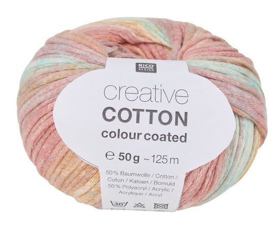 "Wolle ""Creative Cotton Colour Coated"" 50 g"