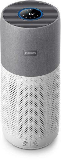 Philips Luftreiniger AC3033/10 Series 3000i, für 104 m² Räume, grau/weiß