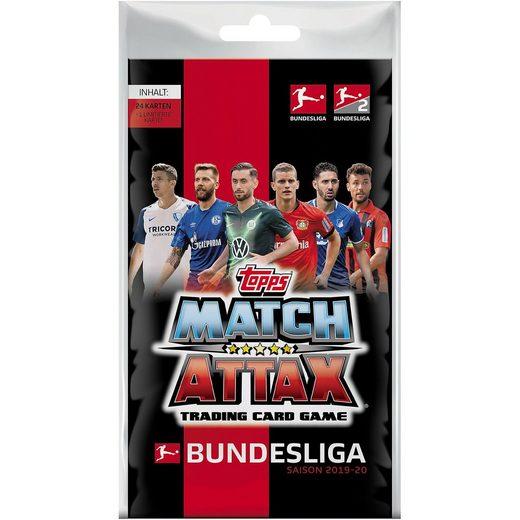 Topps Match Attax BLISTERPACK mit 25 Karten 2019/2020