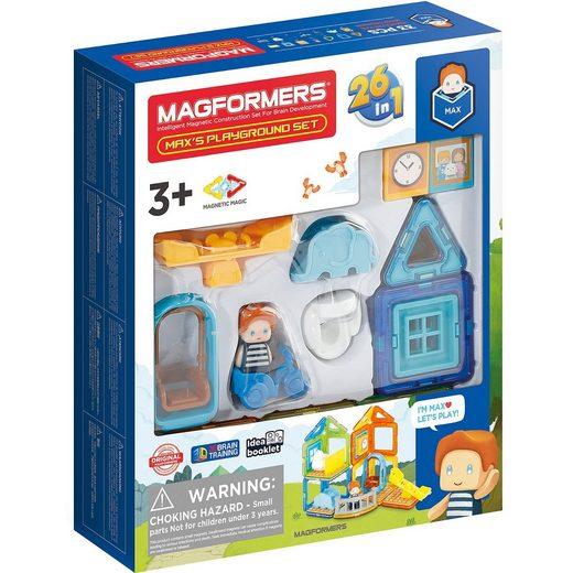 MAGFORMERS Max's Playground Set