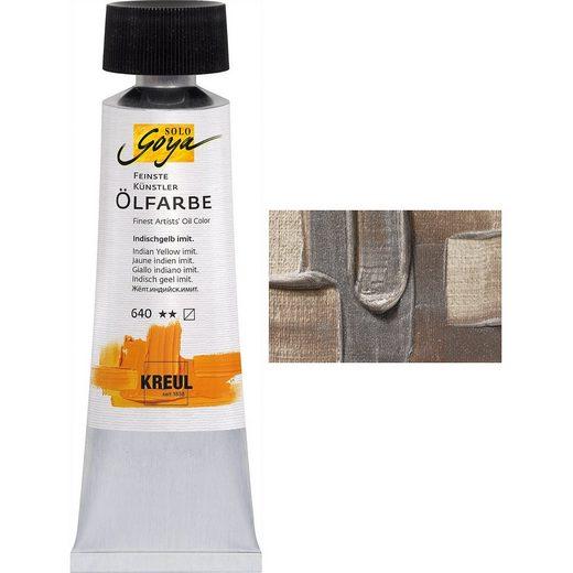 C. KREUL Solo Goya Künstlerölfarbe Silber 55 ml Tube