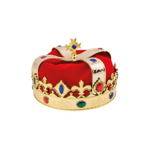Königskrone Ludwig gold-rot