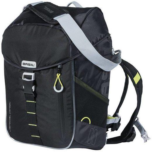 Basil Gepäckträgertasche »Miles Backpack 17l, Northern Lights«