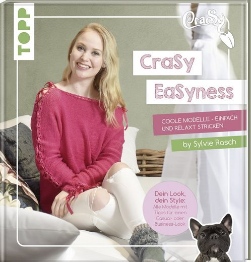 """TOPP Kreativ Buch """"CraSy EaSyness"""" 96 Seiten"""