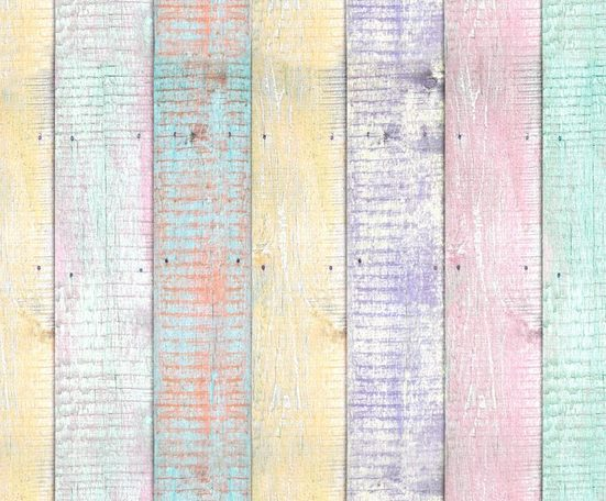 """Motiv-Fotokarton """"Holz Pastell"""" ca. 49,5 x 68 cm"""