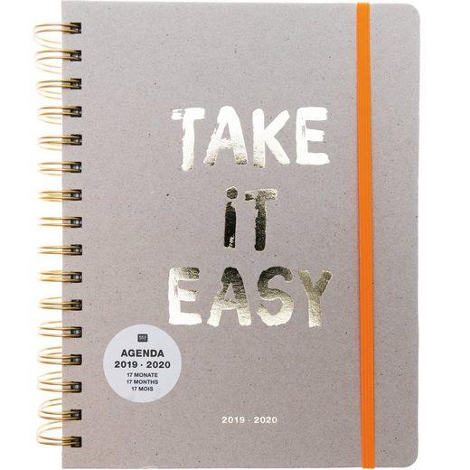 "Rico-Design Verlag Ringbuch-Kalender ""Bullet Diary Take it easy"" 16,5 cm x 22 cm"
