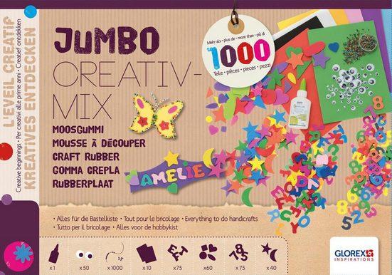 """Jumbo Creativ-Mix """"Moosgummi"""" über 1.000 Teile"""