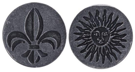 "Aladine Stempelplatte ""Lilie/Sonne"" Doppelmotiv"