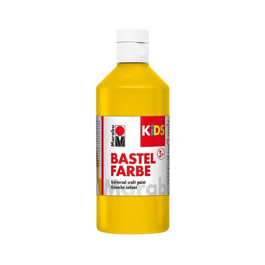 Marabu Kids Bastelfarbe, Gelb 500 ml