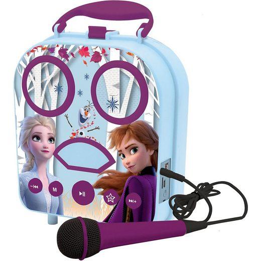 Lexibook® Disney Die Eiskönigin 2 Mein tragbarer Lautsprecher mit Mikr