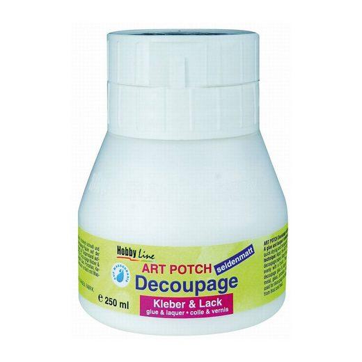 C. KREUL Art Potch Decoupage Kleber & Lack glänzend 250 ml Dose