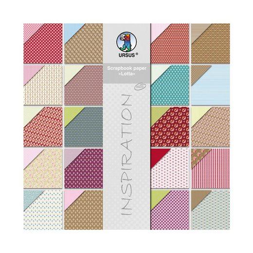 URSUS Paper Block Lotta 1 20 Blatt, 30,5 x 30,5 cm