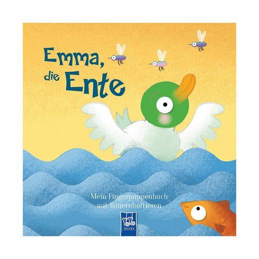 YoYo Books Mein Fingerpuppenbuch mit Bauernhoftieren: Emma, die Ente