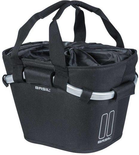 Basil Fahrradkorb »Classic Front Wheel Basket Bag 15l, with Klickfix«