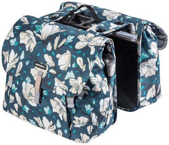 Basil Gepäckträgertasche »Magnolia Double Pannier Bag 35l, with MIK adapter«