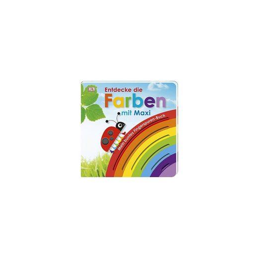 Dorling Kindersley Verlag Mein buntes Fingerspuren-Buch: Entdecke die Farben mit Maxi