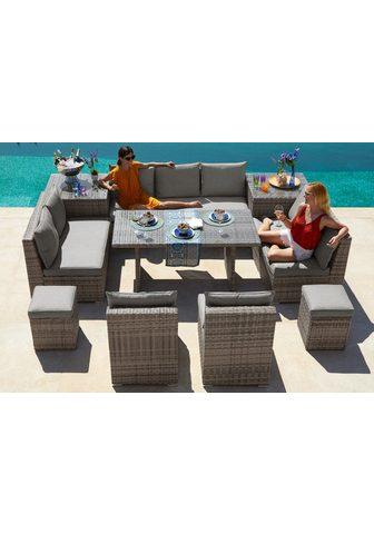 KONIFERA Loungeset »Florida« (26-tlg) 3-er sofa...