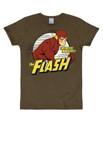 LOGOSHIRT Marškinėliai su coolem The Flash-Print...