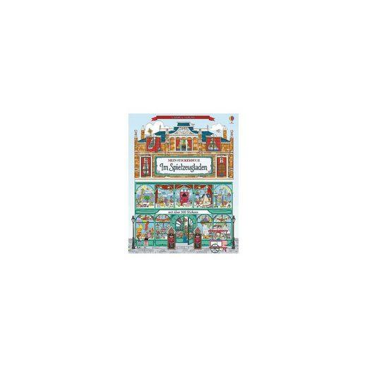 Usborne Verlag Mein Stickerbuch: Im Spielzeugladen