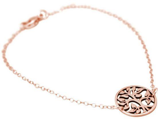 Gemshine Charm-Armband »YOGA Lebensbaum«, Made in Spain