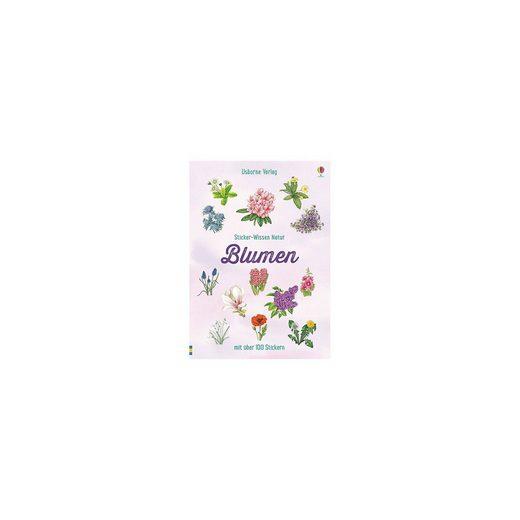 Usborne Verlag Sticker-Wissen Natur: Blumen