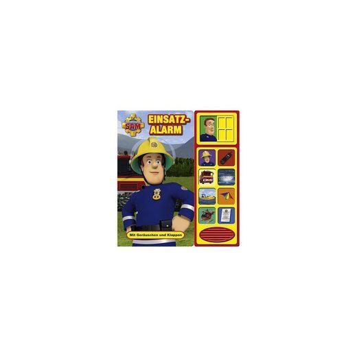 PI Kids Verlag Feuerwehrmann Sam: Einsatzalarm, Klappen-Geräusche-Buch