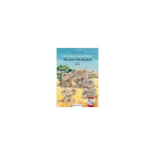 Hueber Verlag Der schlaue kleine Elefant, Deutsch/Englisch, mit Audio-CD