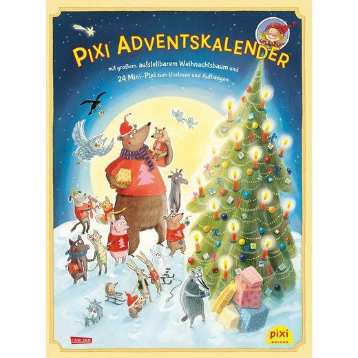 Carlsen Verlag Pixi Adventskalender mit Weihnachtsbaum 2018