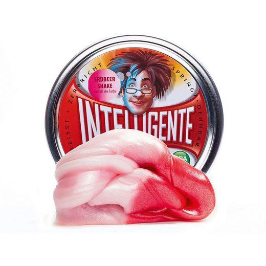 Intelligente Knete: Erdbeer-Shake