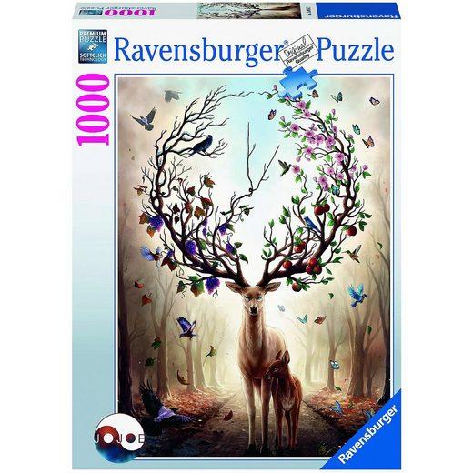 Ravensburger Puzzle Magischer Hirsch, 1.000 Teile