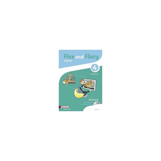 Diesterweg Verlag Flex and Flory: Workbook 4 mit Schüler-Audio-CD und Diagnose