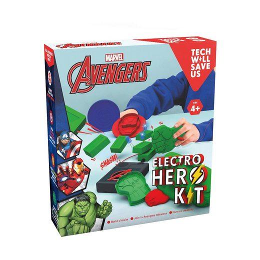 Techwillsaveus Electro Hero Kit Marvel Avengers, Lernset Str