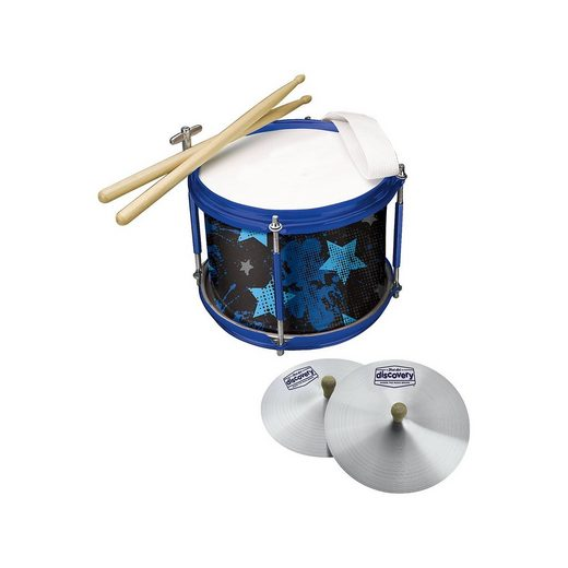 Jazwares First Act Discovery: Marching Band Set, Trommel und Becken