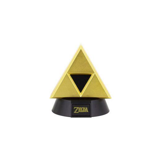 Icon Licht: Zelda - Goldenes Triforce Logo 3D