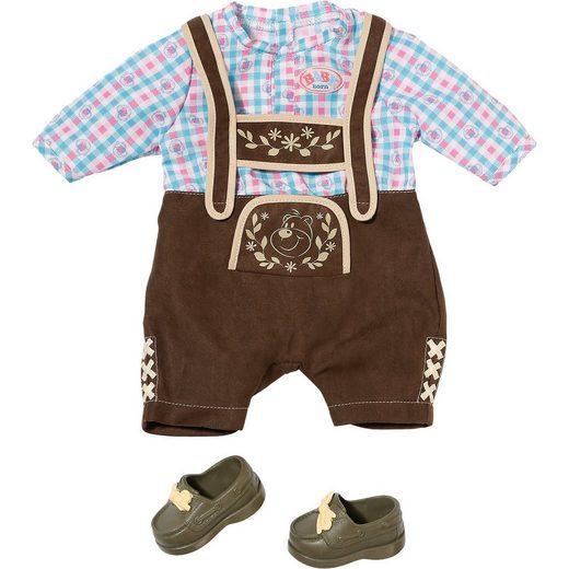 Zapf Creation® BABY born® Puppenkleidung Oktoberfest Lederhose, 43 cm