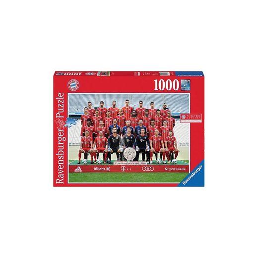 Ravensburger Puzzle 1000 Teile FC Bayern Saison 2017/18