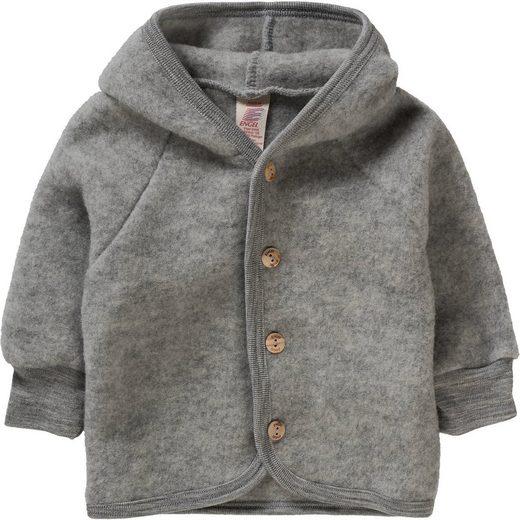 Engel Baby Wollfleece Jacke